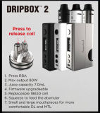 Kit inferior de Kangertech Dripbox 2 80W Tc del diseño que introduce