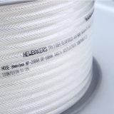 Umsponnener Luft-Schlauch 10*6.5 des Polyester-TPU transparent