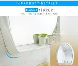 足を搭載する贅沢で、優雅なステンレス鋼の浴室の虚栄心