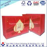 Saco recicl luxo do papel de embalagem do varejo da qualidade superior
