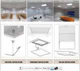 Panel-Lampen-Quadrat-Glas China-SMD2835 35W 90lm/W Dimmable 60X60 LED