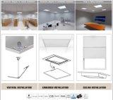 Van de LEIDENE van China SMD2835 35W 90lm/W Dimmable 60X60 het Vierkante Glas Lamp van het Comité