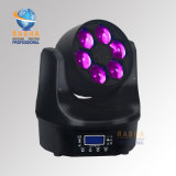 RashaのPowercon DMX512の段階の照明の6LEDsの熱い販売4in1 RGBW/RGBAの蜂の目LEDの移動ヘッドビームライト
