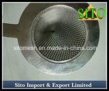 Setaccio perforato del filtrante di figura di cono della maglia dell'acciaio inossidabile