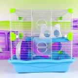 Cage de épissure faisante le coin en plastique de hamster de grand de hamster château de cage