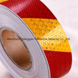 Fabrik-Gefahr, die gelber und schwarzer Streifen-reflektierendes Band (C3500-S, warnt)