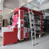Heiße verkaufen6 Farben-preiswerte PapierrollenFlexo Drucken-Maschine