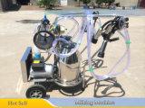 Electric Operated máquina de ordeño con 25L Cubo de ordeño