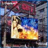 Supports publicitaires extérieurs de grand Afficheur LED polychrome, luminosité imperméable à l'eau et intense