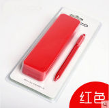 Inquebrável Custom Candy Color Office e School Siliconene Desk Pen Boxes