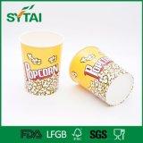 Compartimientos/tazas de papel disponibles impresos aduana del uso de las palomitas