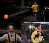 Sprekend Flitslicht die de Koplamp van de LEIDENE Sport van Lenser Seo7.2 wandelen