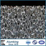 Uso de aluminio azul profundo de la espuma para la decoración al aire libre