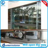 Sistema automático de la puerta corrediza de vidrio
