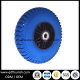 원예용 도구 손수레를 위한 피마자 타이어 PU 거품 바퀴 타이어