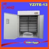 De Hhd 1584 dos ovos Ce eficiente elevado automático da incubadora do ovo da galinha completamente aprovado