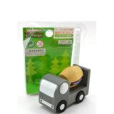 Mini-voiture de jouets en bois Kids Bébé Diecasts véhicule de l'éducation des enfants de jouets de voiture
