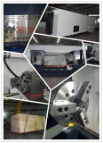 Ck6140 수평한 CNC 선반 대만 선형 홈 높은 정밀도