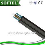 Cabo pendente da fibra Self-Supporting de 8 núcleos