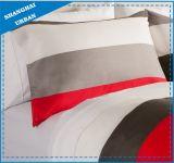 De Colorblock Afgedrukte Reeks van het Blad van het Bed van de Polyester