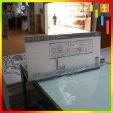 壁に取り付けられた広告PVC印の透過アクリルの明確なプラスチックボード