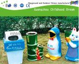 De Plastic Vuilnisbak van het park met En840- Certificaat (M11-14214)