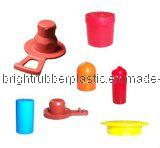 Protezioni colorate del silicone modellate abitudine