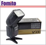 V500 pour appareil photo Canon et Nikon flash Speedlite Flashgun