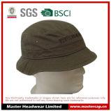 Chapéu unisex da cubeta dos adultos de Brown com bordado