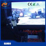 Gioco dell'interno a gettoni della macchina del gioco della fucilazione della galleria di Rambo video per il centro del gioco