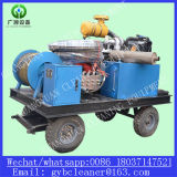 Diesel Engine Drive 800mm Máquina de limpeza de drenagem de esgoto Máquina de draga de tubos