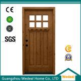 Personnaliser l'usine en bois intérieure de pièce de porte d'artisan