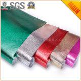 Tela no tejida laminada película metálica para el bolso que hace el material