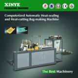 Computergesteuerte automatische Heißsiegelfähigkeit-und Wärme-Ausschnitt Beutel-Bildenmaschine