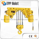 Tipo grua Chain de levantamento elétrica 2.5t do trole de Hsy do motor