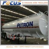 semirimorchio di olio combustibile liquido del camion di autocisterna del petrolio degli scompartimenti 50cbm 3