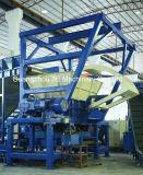 기계를 재생하는 기계 또는 타이어를 재생하는 타이어 슈레더 또는 타이어