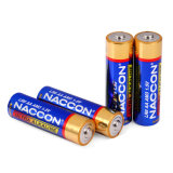 Ultra щелочные батареи LR6 типа AA 1,5 В основной Non-Rechargeable сухой батареи