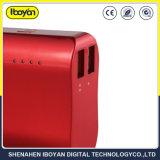 12000mAh de energía móvil portátil USB doble Banco con la linterna