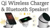 Qi 무선 비용을 부과를 가진 Bluetooth 스피커