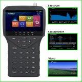 """Mètre de détecteur de HD Sat avec """" écran LCD 4.3"""