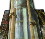 Coffrage de contre-plaqué de colonne pour le béton