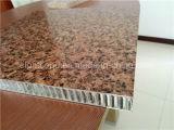 Het lichtgewicht Comité van de Honingraat van het Aluminium van de Oppervlakte van de Korrel van de Steen voor Bouwmaterialen