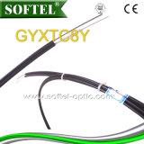 Figura esterna autosufficiente 8 cavo ottico di Gyxtc8y della fibra