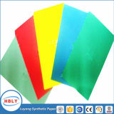 Riss-beständiger Einspritzung-Plastik in Form-Kennsatz verwendetem synthetischem Papier