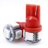 5PCS5050 SMD T10 Lâmpada LED Auto (T10-WG-005Z5050)