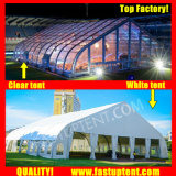 Curva de PVC alumínio Marquee tenda para o evento 500 pessoas lugares comentários