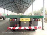 半Sinotruk 3の三車軸BPW平面トラックのトレーラー40FTの容器のトレーラー