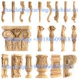 4 o 5 macchina rotativa del router di CNC del gesso della gomma piuma di asse 3D ENV dell'intonaco del marmo di legno di plastica della pietra per la statua della scultura del sofà della mobilia