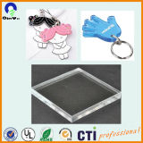 Limpar Plexiglass Placa de material de PMMA Folha de acrílico